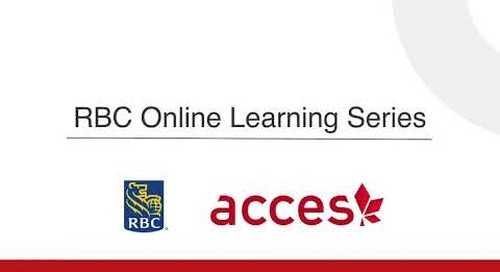 RBC Online Learning Series: Asking for Referral