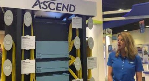 Kristine talking ASCEND Cassettes at BICSI Winter 2020