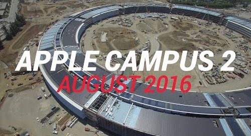 APPLE CAMPUS 2 August 2016 Construction Update 4K