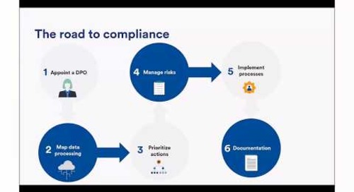 Webinar: How to reduce your risk and avoid GDPR penalties