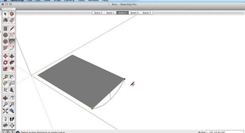 SketchUp Training Series: Arc Tool