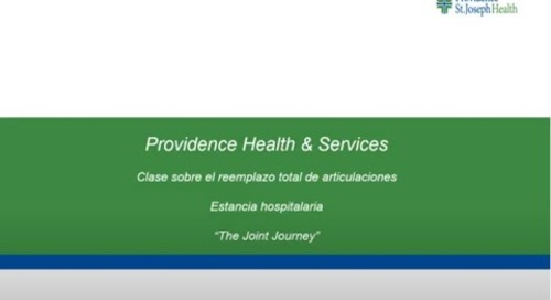 Total Joint Replacement Pre-Operation Education (in Spanish)