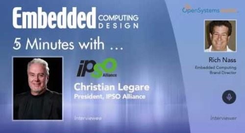 Five Minutes With…Christian Legare, President, IPSO Alliance