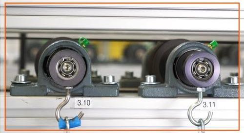 xiros ball bearing test lab