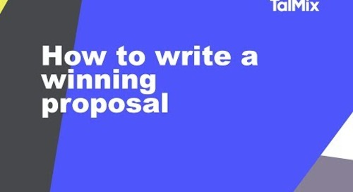 Live broadcast: How to write a winning proposal (2)