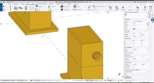 How to Model a Precast Vault in Tekla Structures