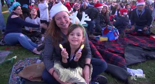 Carols by Candlelight 2017 Highlights (400 percent speed)
