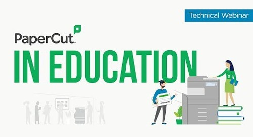 PaperCut in Education | Technical Webinar