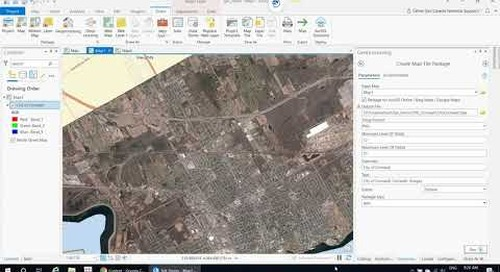 Uploading tile layers and tile packages to ArcGIS Online