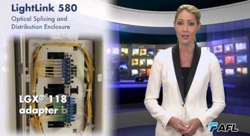 LightLink LL-580 Optical Splicing and Distribution Enclosure