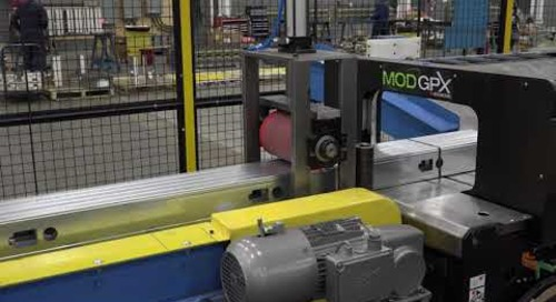 Samco Machinery Greenfield Stud and Track Rollformer with Master Bundler