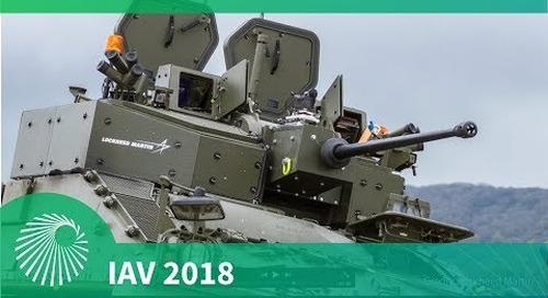 IAV 2018: LM turret, Warrior, Ajax and export programmes