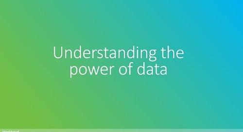 Understanding the power of data