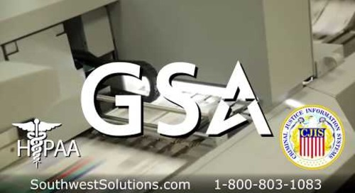 Document Scanning Services Off-site High Speed Record Scanning HIPAA CJIS GSA