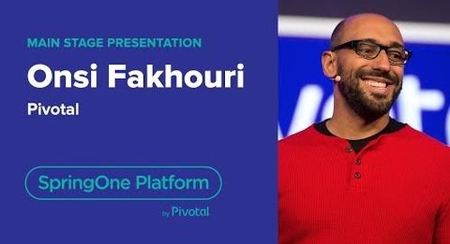 Onsi Fakhouri, Pivotal—SpringOne Platform 2018
