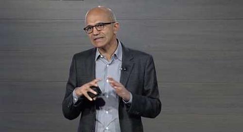 Microsoft Business Forward 2017 keynote | Satya Nadella on the vision for digital transformation