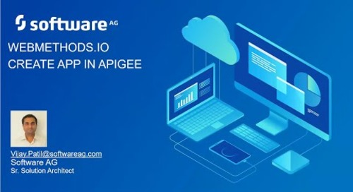 webMethods.io Create App in Apigee