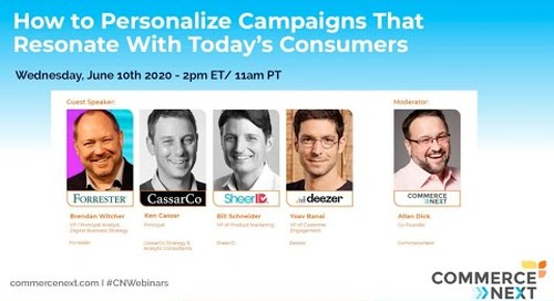 How to Personalize Campaigns that Resonate with Today's Consumers
