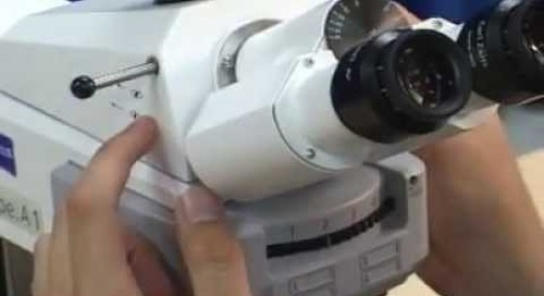 ZEISS Axio Scope.A1 - Installation