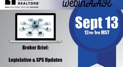 Broker Brief Webinar 9 13 2017