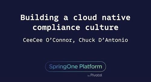 Building a Cloud-Native Compliance Culture - CeeCee O'Connor (Boston Scientific), Chuck D'Antonio