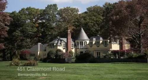 451 Claremont Road, Bernardsville NJ - Real Estate Homes for Sale