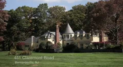 451 Claremont Road, Bernardsville NJ - Real Estate Homes for Sale