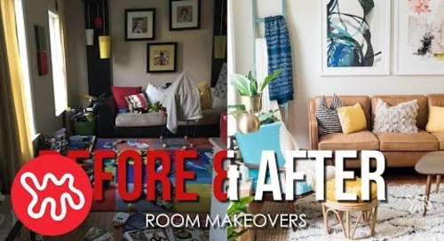 Before & After: Whole Rooms