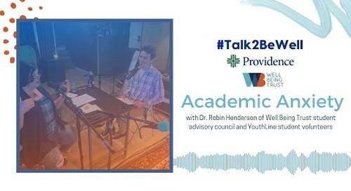 Talk2BeWell: Academic Anxiety
