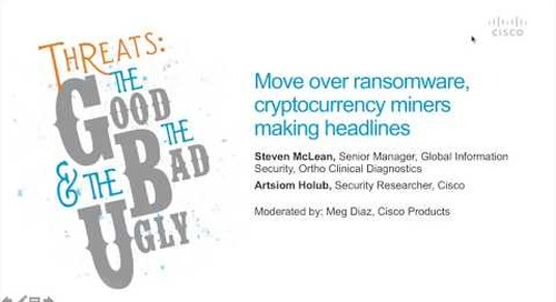 Move over ransomware, cryptocurrency miners making headlines