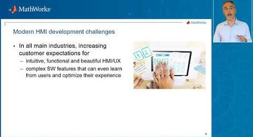 Empower your design of HMI/UX by integrating advanced simulation capabilities –Dev/Des 2021