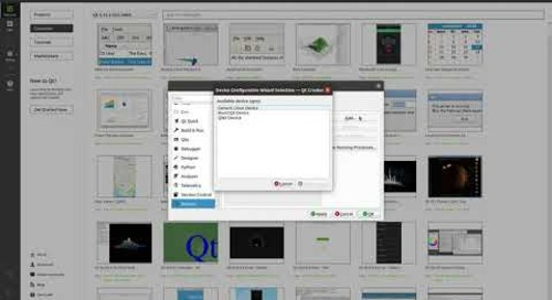 How to set up and deploy an application using Qt for Device Creation