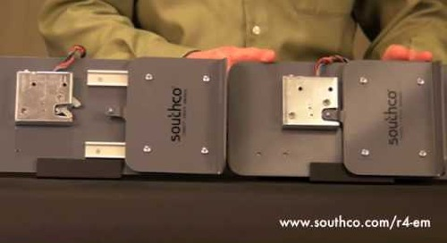 Southco Rotary Action Electromechanical Latch
