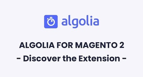Algolia for Magento 2 | Discover the Extension