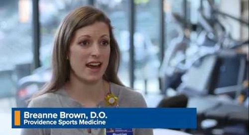 Providence Wellness Watch KGW Aug 2019 60 Sports Medicine - Dr. Brown