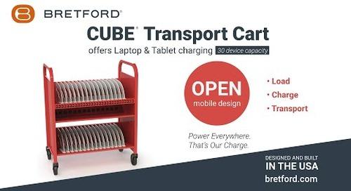 Bretford   CUBE® Transport Charging Cart