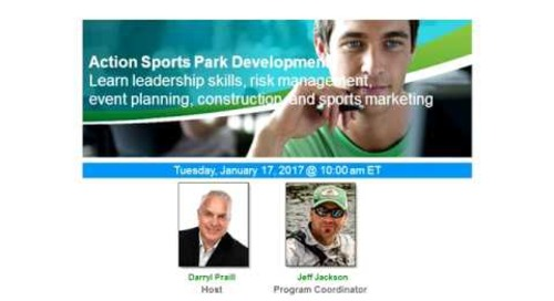 Action Sports Park Development Webinar