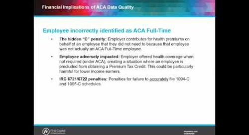 "What is the hidden ACA ""C"" penalty?"