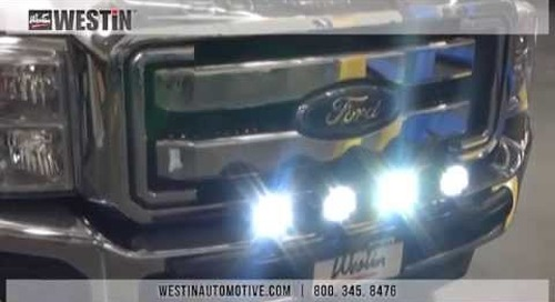 Installation of Westin Axis HP LED Auxiliary Lights