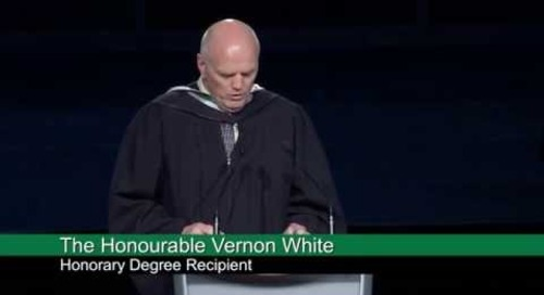 Convocation 2015 - Senator Vern White