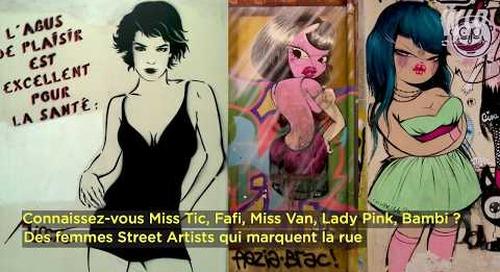CAPSULE STREET ART - Part 07  - Les Femmes dans la rue FR