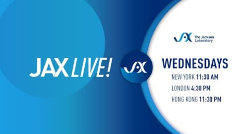 JAXLive! A preview of Immunology Scientific Sessions -- CRS, NSG Mice, and More
