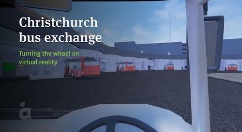 Christchurch Bus Interchange virtual reality simulator