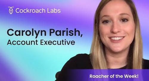 Roacher of the Week: Carolyn Parrish, Account Executive