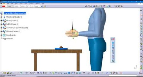 Tip: How to execute a manikin hand grasp in CATIA V5