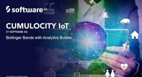Bollinger Bands® with Cumulocity IoT Analytics Builder