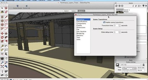 SketchUp Training Series: Scenes