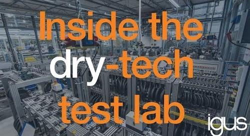 igus dry tech test lab