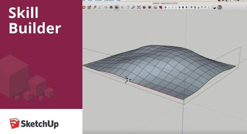 [Skill Builder] Modeling a Bag of Chips in SketchUp