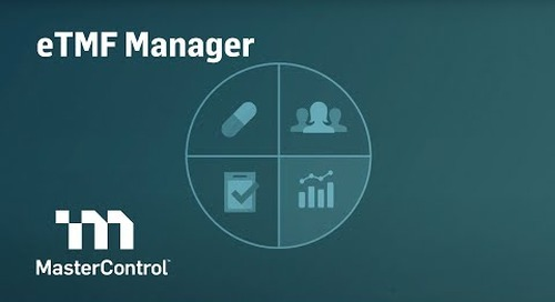 MasterControl eTMF Manager
